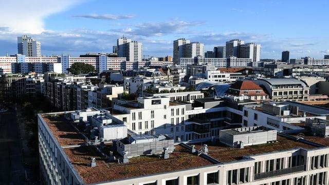 Blick über Dächer von Berlin