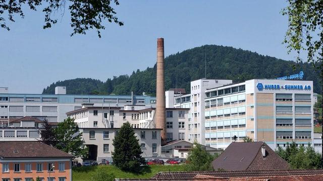 Der Sitz des Kabelherstellers Huber und Suhner in Herisau.