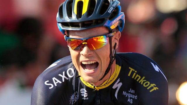 Nicolas Roche gewinnt in Spanien.