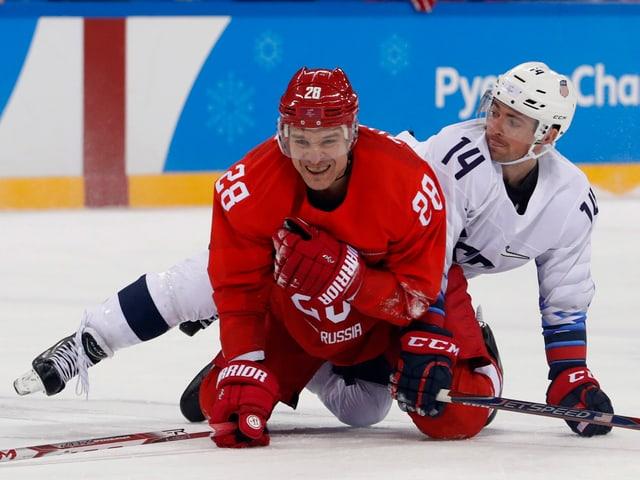 Andrei Zubarev und Broc Little im Duell.