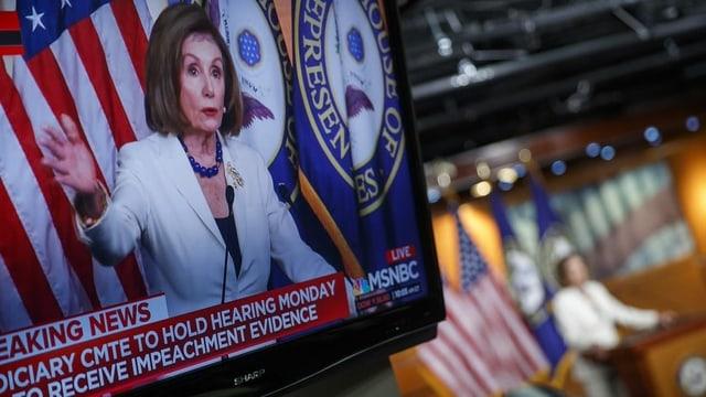 Das wacklige Impeachment der Demokraten
