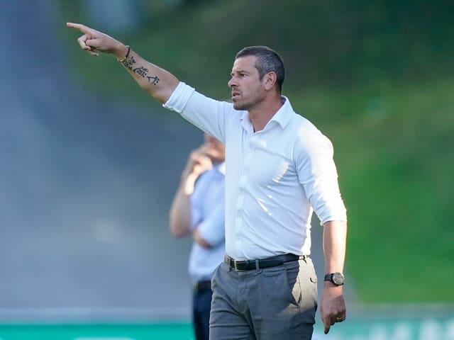 Vaduz-Trainer Mario Frick.