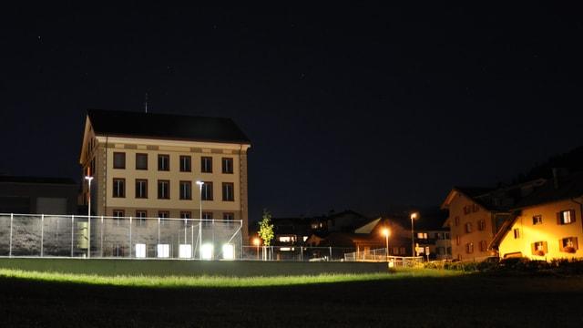 La scola renovada da Lantsch.