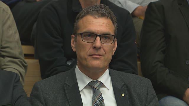 Andreas Felix, directur da la Societad grischuna dals impressaris constructurs.