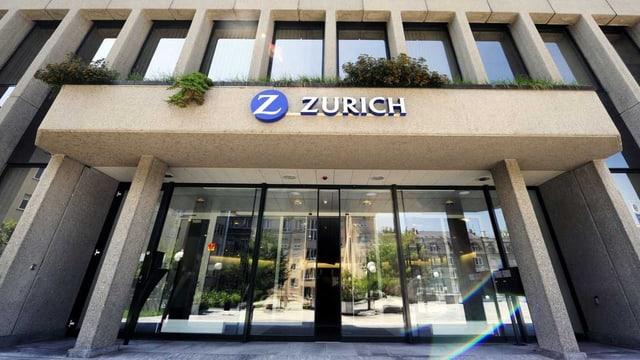 Aussenansicht eines Zürich-Gebäudes.