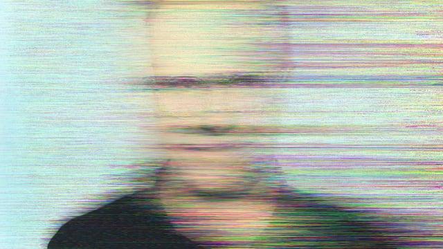 Verfremdetes Porträt von Hans Ulrich Obrist.
