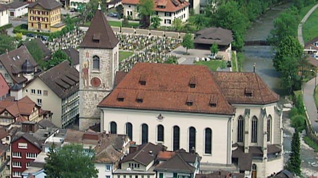 Video «Röm.-katholischer Pfingstgottesdienst aus Appenzell» abspielen