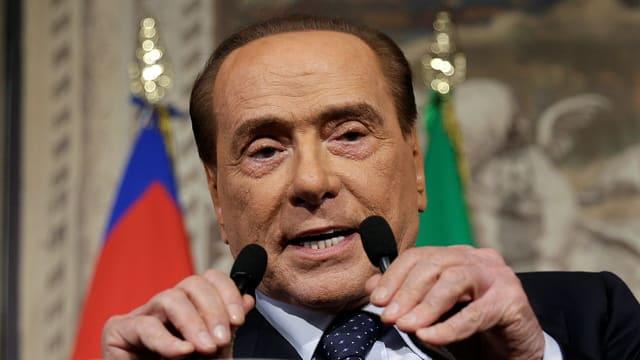 Purtret Silvio Berlusconi