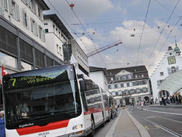 In den neuen E-Bussen der VBSG wird's im Winter empflindlich kühl.