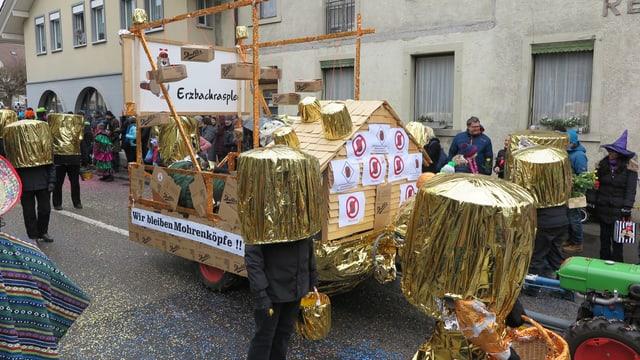 Mohrenkopf-Wagen der Erzbachraspler