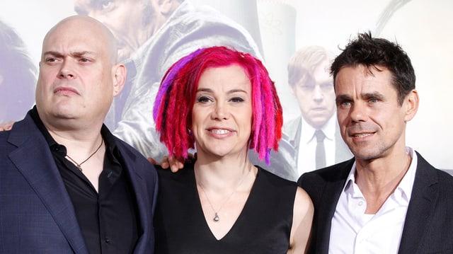 Andy Wachowski, Lana Wachowski und Tom Tykwer.