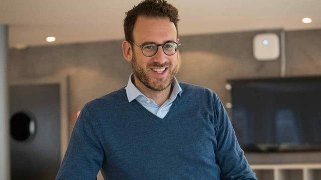 SRF-Redaktor Markus Föhn
