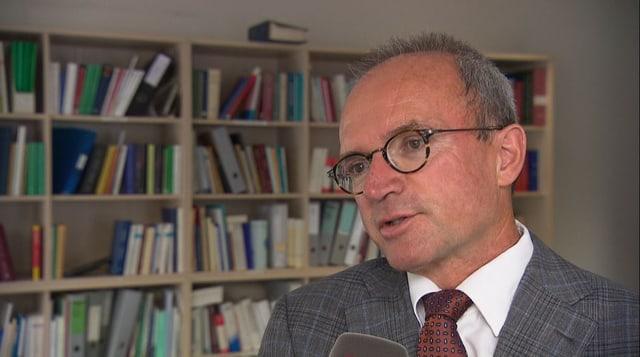 Rechtsprofessor Ueli Kieser.