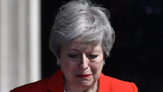 Theresa May bragia (crida)