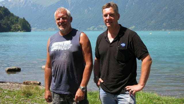 Portrait Urspeter Fischer und Markus Zimmermann