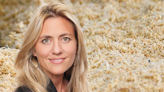 Porträt von Sandra Schiess.