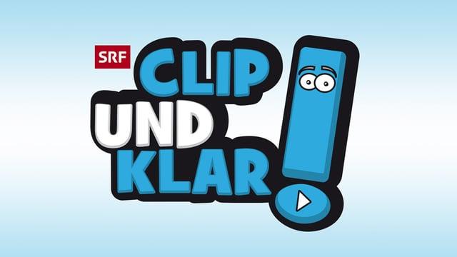 """Das Logo der Sendung """"Clip und klar!"""""""