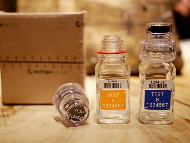 Dopingflaschen