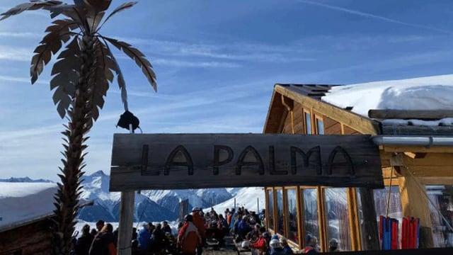 La Palma amez la regiun da skis Motta Naluns a Scuol