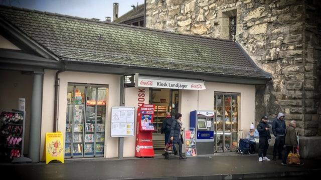 Der unabhängigen Kiosk Landjäger in der Aarauer Altstadt gibt es schon seit über 15 Jahren.