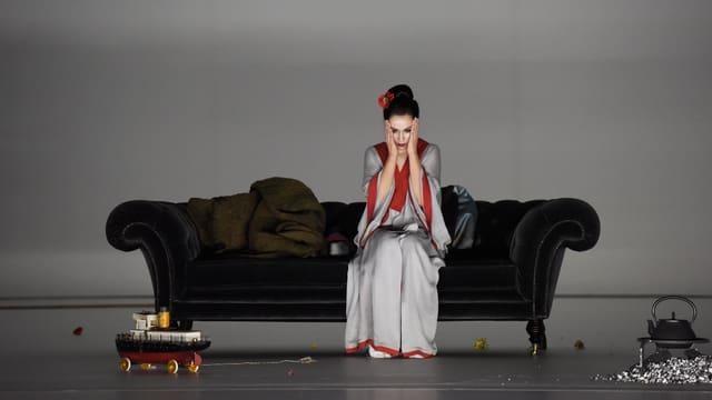 Ausschnitt aus der Oper «Butterfly» in der Inszenierung des Zürcher Opernhauses