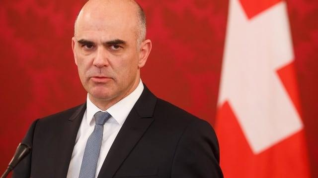 Wartet die Vorschläge des Aussenministers ab: Bundespräsident Berset.