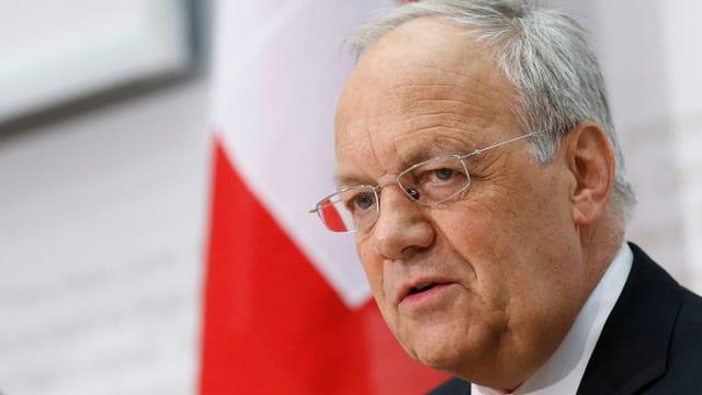 Cusseglier federal Johann Schneider-Ammann.
