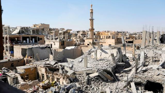 Zerstörte Gebäude