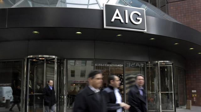 AIG-Gebäude in New York (keystone)