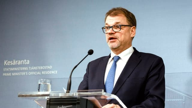 Il primminister da la Finlanda, Juha Sipilä.