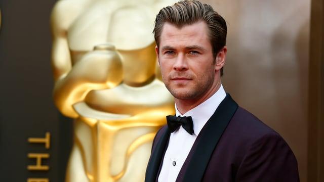 Schauspieler Chris Hemsworth bei den Oscars 2014.