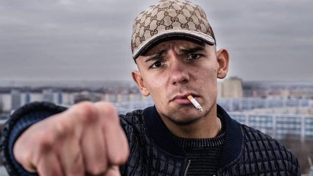 Capital Bra, der momentan erfolgreichste Rapper Deutschlands