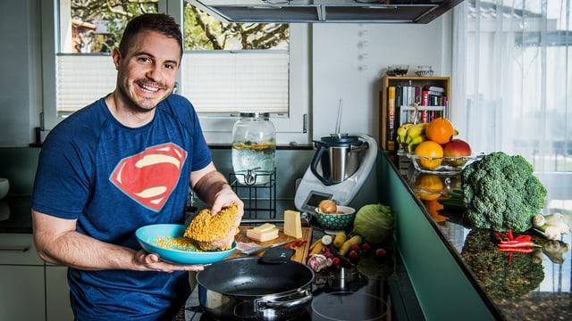 Video ««SRF bi de Lüt – Männerküche»: Dominik Held (BE)» abspielen