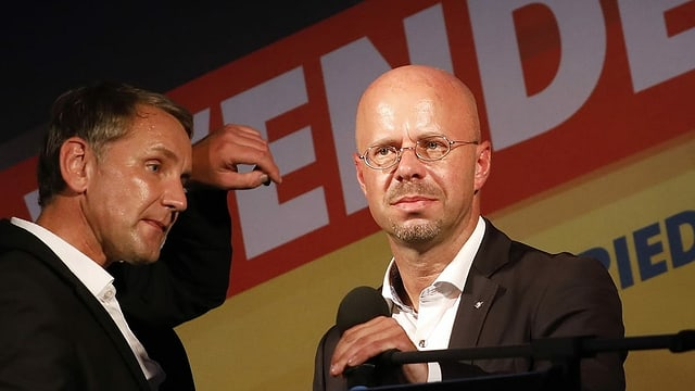 Höcke und Kalbitz.