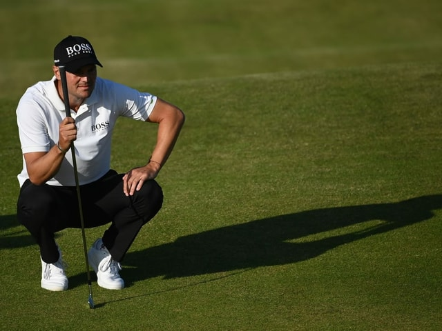 Martin Kaymer auf dem Golfplatz