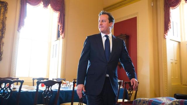 Premierminister David Cameron bei einem Besuch in Washington D.C.