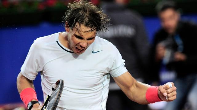 Rafael Nadal ist in Barcelona weiter nicht zu stoppen.