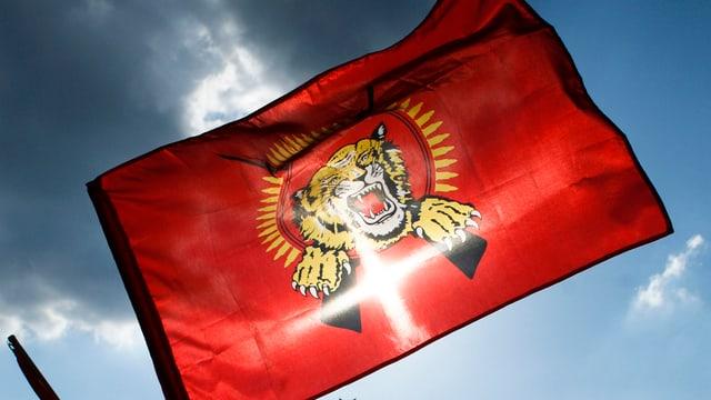 La bandiera dals Tamil Tigers.
