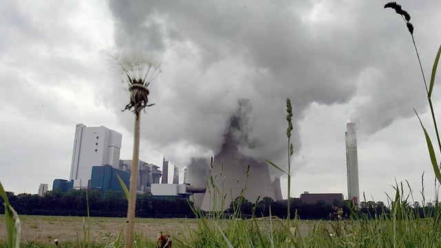 Kraftwerk Niederaussern in Deutschland