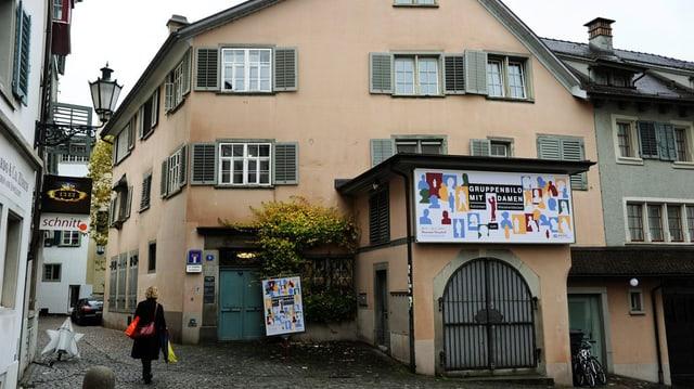 Aussenansicht des Zürcher Literaturmuseums Strauhof.