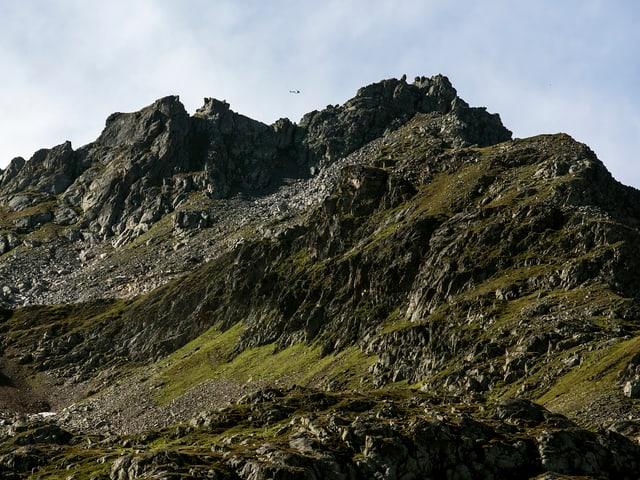 Gebirge am Sustenpass.
