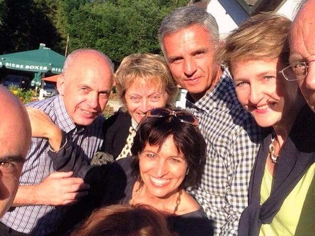 Bundesrats-Selfie
