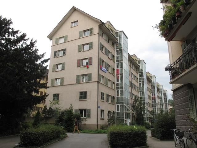 Die Wohnhäuser an der Tödistrasse in Luzern, welche durch Neubauten ersetzt werden.