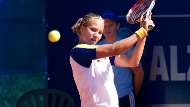 Viktorija Golubic überzeugt in Österreich.
