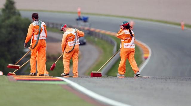 Der Sachsenring hat es in sich.