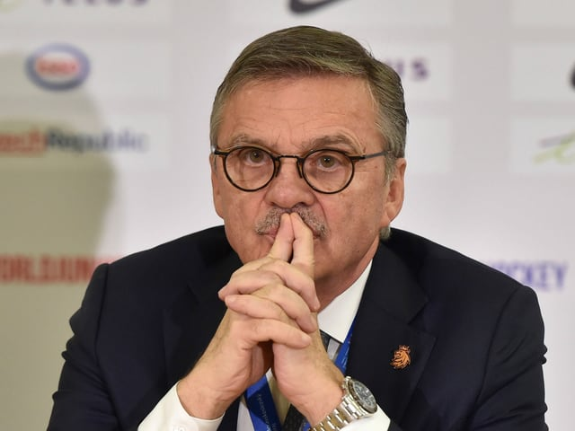 IIHF-Präsident René Fasel.