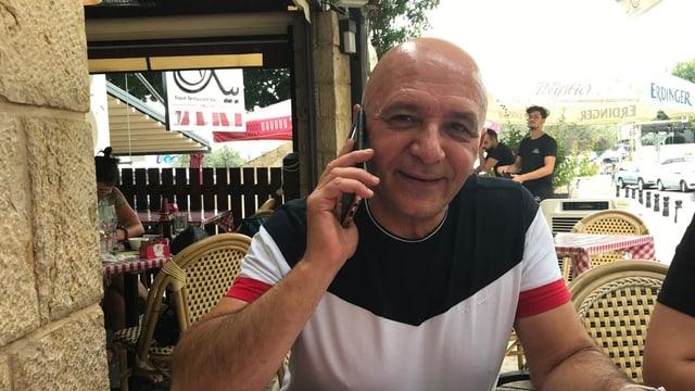 Azmi Hakim, ehemaliger Gemeindepolitiker in Nazareth.