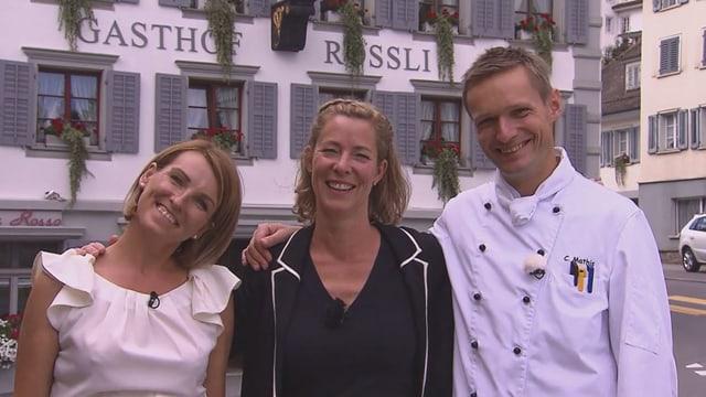 Video «Kanton & Stadt Luzern – Tag 5 – Restaurant Rössli, Ruswil» abspielen