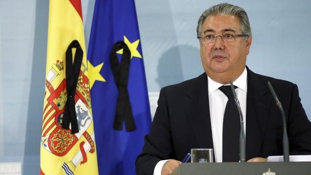 Il minister da l'intern da la Spagna, Juan Ignacio Zoido.