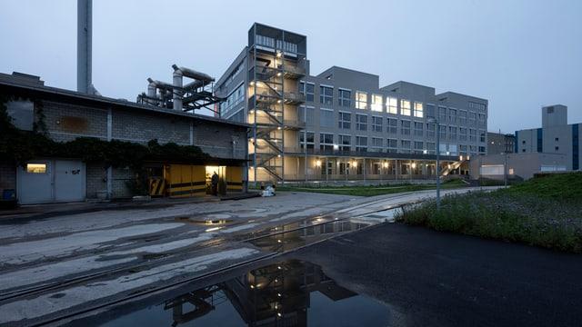 Gebäude der Hochschule Luzern in der Viscosistadt.